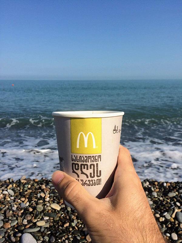 Море и кофе в Грузии
