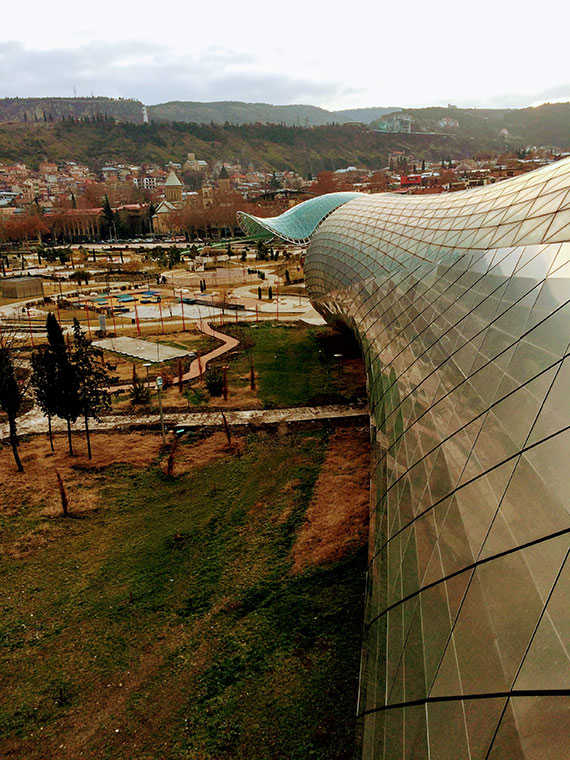 архитектура в грузии