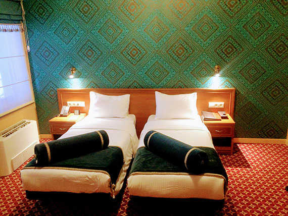 Двухместный номер в отеле Golden Tulip Borjomi