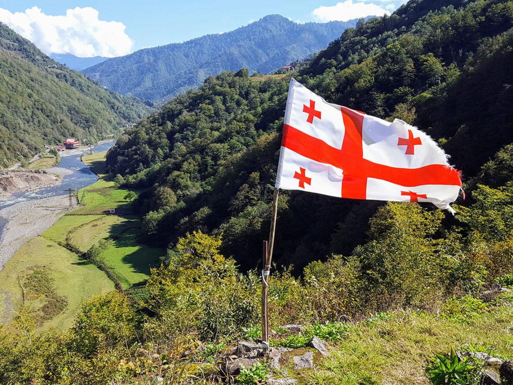 природа в грузии мачахела
