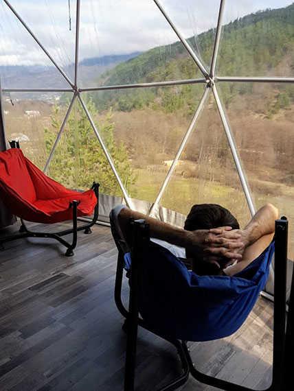 Комната в шатре в Раче Glamping Georgia