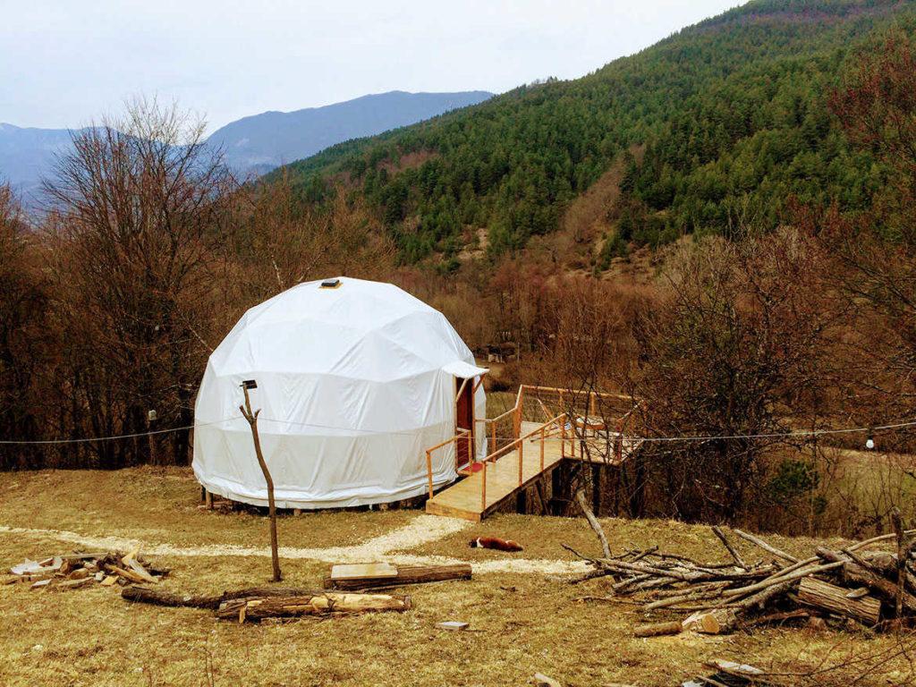 Люкс-шатер в Раче Glamping Georgia
