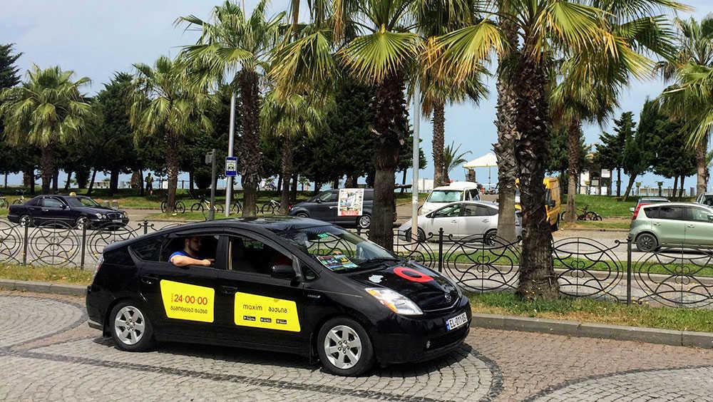 Такси в Батуми на набережной