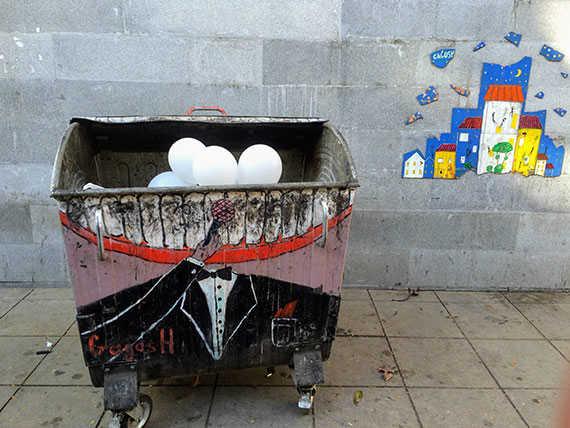уличное искусство в грузии
