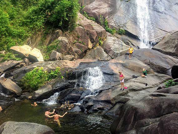 Водопад Темурун