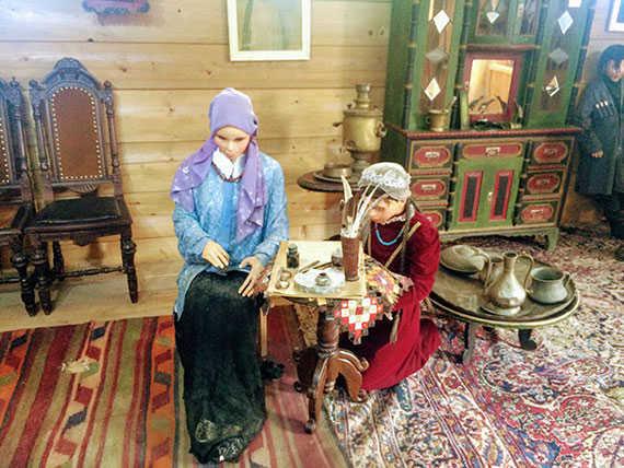 Быт аджарской деревни 19 века в Этнографическом музее