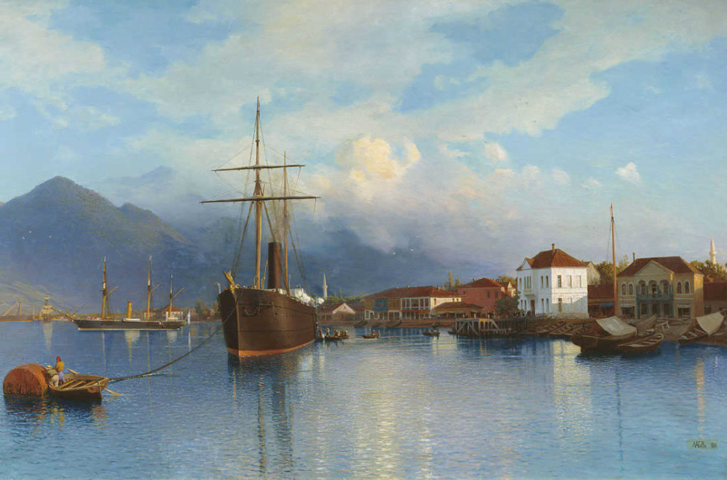 картина порта батуми конца 19 века