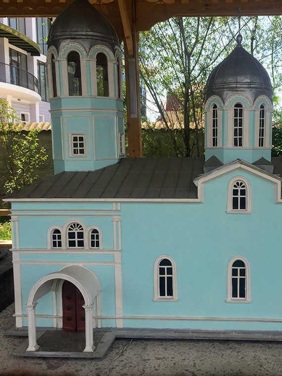 Собор Святого Николая макет в Батуми