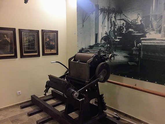 станок для печати фото прокудина горского