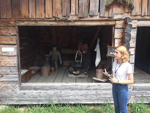 старинные деревянные люльки для детей