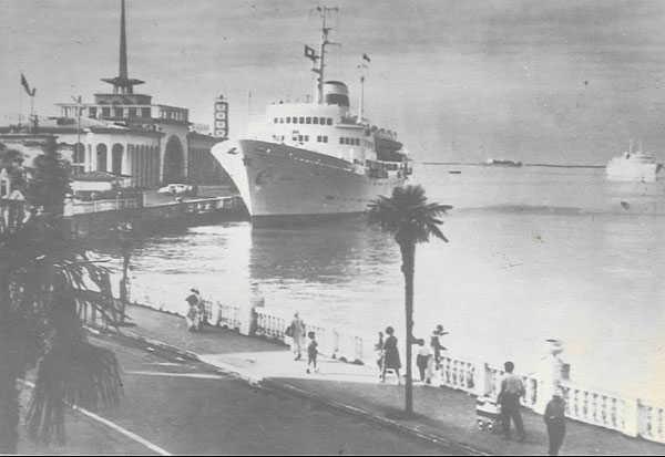 старый батуми порт