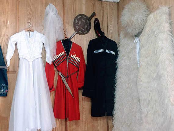 традиционная одежда грузин