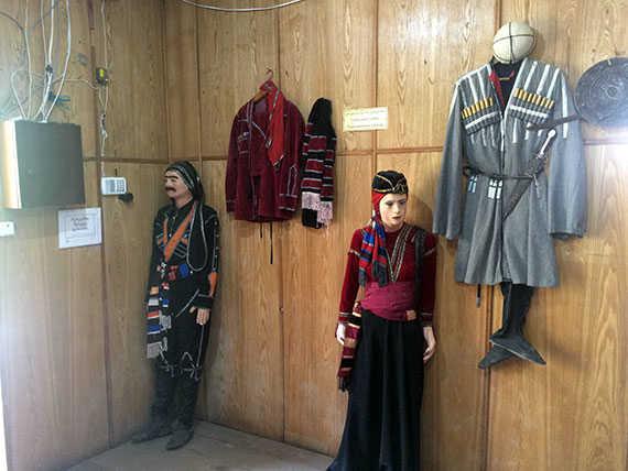 традиционные национальные костюмы грузин