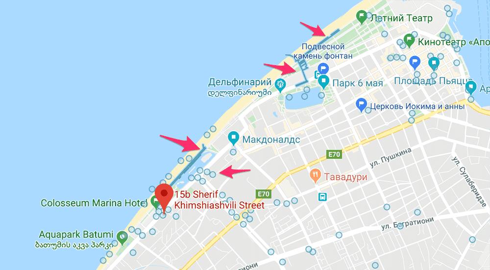 Режим просмотра гугл карты