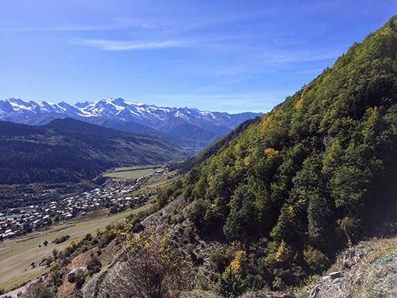 горы в Местии