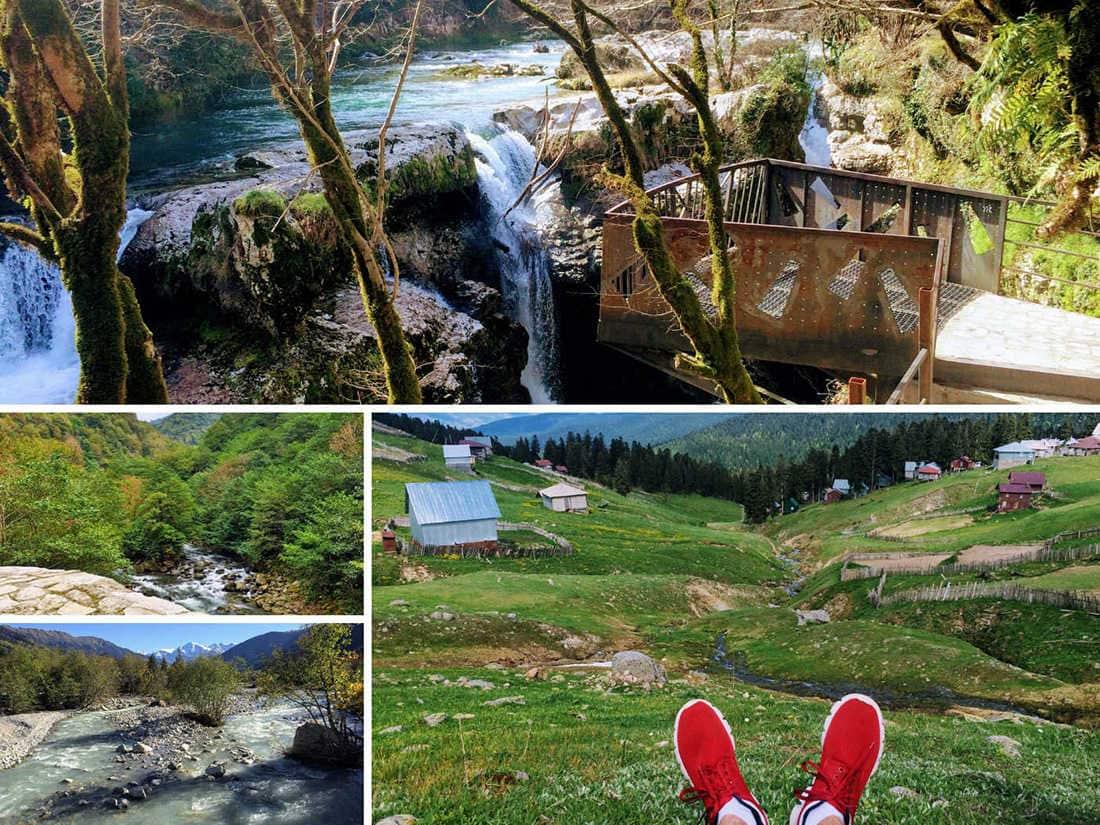 грузинская природа